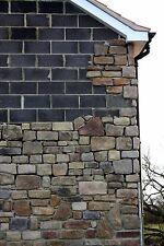 Mixed Sandstone Cast Stone - Stone Cladding - Higgins Cladding - Sample