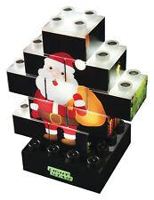 Luz Stax Navidad-Edition 4in1 Puzzle regalo de Navidad/Regalo para Niño/niña