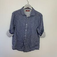Penguin Heritage Slim Fit Button Tab Sleeve Shirt Mens Extra Large XL