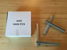 Picture Framing Pneumatic Industrial Staples - 12mm x 8mm - Box 10000 Staples