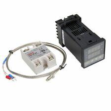 4pcs Rex C100 Temperature Controller Ssr Output With K Type Thermocouple Sensor