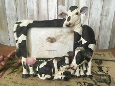 Animal Cow Photo Frame 3D  Freestanding Photo Picture Frame 4x6 By Popular