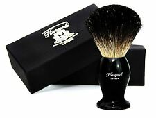 100% Pure Black Badger Hair Shaving Brush for Men's For All Skin Types