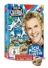 2 DVDs * SASCHA GRAMMEL - ICH FIND´S LUSTIG (MIT JA-NEIN-WÜRFEL) # NEU OVP !