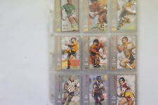 1994 Rugby League Masters 110 cards & 5 Captains Choice cards