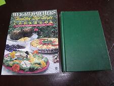 2 Weight Watchers Cookbooks:  Healthy Life-Style PB 1991 & Fast & Fabulous HC