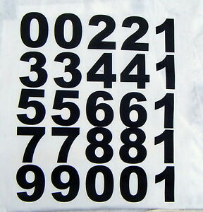 25 iron on numbers BIG BOLD 70mm black.NUMBERS for material,banners t-shirts.