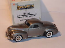 BROOKLIN BRK120 1941 CHRYSLER SARATOGA SKYLINE GRAY METAL 1/43