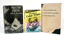 1930 PHOTOGRAPHY DARKROOM BOOKS, SET OF 3