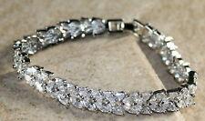 Silver Elegant White Topaz Woman Bracelet WB13031