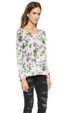 NEW Joie Emele Print Sweater in Stone/Multi - Size XS