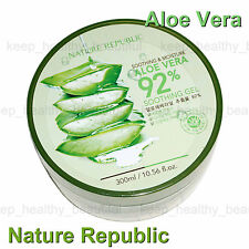 Nature Republic Aloe Vera 92% Soothing Gel 300ml Made in Korea FREE post