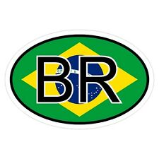 Brasilien BR - csd0345 Autoaufkleber Sticker Aufkleber KFZ Flagge