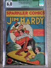 1940 United Features Sparkler Comics #1 CGC 6.0 White Pages