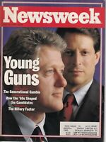 Newsweek Magazine Bill Clinton The Hillary Factor July 20, 1992 032019nonr