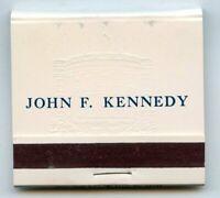 John F Kennedy JFK White House Official Matchbook Matches Vintage - BK485