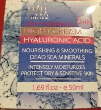 Dead Sea Minerals Collection Hyaluronic Acid Anti-wrinkle Night Cream 1.69fl