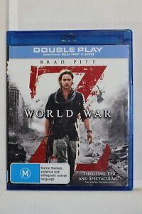 World War Z (Blu-ray, 2013 - Region 4 - Pre-Owned (D569)