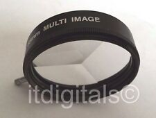 37mm Multi Image Figure 3F Lens Filter Multivision 3R Multi Face Multiple 37 mm