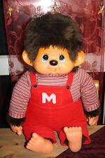 Monchichi / Monchhichi Junge 80 cm Blaue Augen original Bekleidung