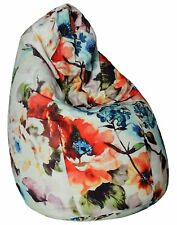 Classic Floral Inspiration XXL Bean Bag Cover Without Beans - Floral
