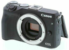 Canon EOS M3 24.2MP Digital Camera body set made in Japan *black *tested
