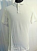 SADDLEBRED MENS WHITE TAILORED FIT SHORT SLEEVE POLO SHIRT SIZE MEDIUM NWT