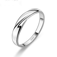 1PCS New Gift Sterling Silver Ring Women Great Twist Band Ring US Size: 10
