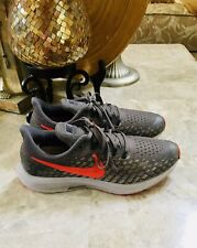 New listing Nike Air Zoom Pegasus 35 Running Shoe Womens Size 6.5Y Grey/ Red
