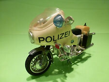 POLISTIL POLITOYS BMW R75/5 - POLIZEI - WHITE 1:15 - VERY GOOD CONDITION