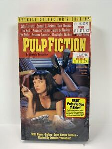 Pulp Fiction VHS 1994 Special Collectors Edition Quentin Tarantino TOWER SEALED