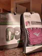 Everlast Training Mitts & Women's Kickboxing Gloves Combo - New