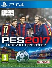 PS4 Pro Evolution Soccer PES 2017 Brand New Sealed in stock