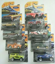 Hot Wheels FORD SERIES Complete Set of 8