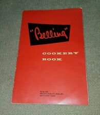 vintage Kitchenalia  Belling  cookery book