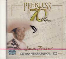 Juan Zaizar Peerless 70 Anos CD New Nuevo Sealed