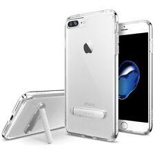 Apple iPhone 7 Spigen [Ultra Hybrid S Clear] Shockproof Cover TPU Kickstand Case