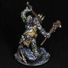Painted Miniature Reaper Ettin Giant DnD Pathfinder RPG Barbarian D&D figure