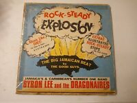 Byron Lee And The Dragonaires ‎– Rock-Steady Explosion- Vinyl LP 1968
