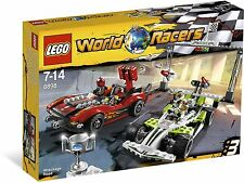 Lego World Racers Set 8898 8897 Wreckage Road & Jagged Jaws Reef RETIRED SET