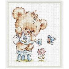 CHUDO IGLA  17-17  Ma fleur  Kit  Broderie  Point de Croix  Compté