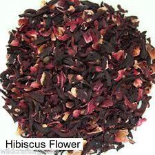 Dried Herb Red Hibiscus Flower 80g Certified Organic Herbal Tea Rosella