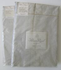 NEW YVES DELORME Paris Palais Royal FrenchTicking Taupe Twin Fitted & Flat Sheet