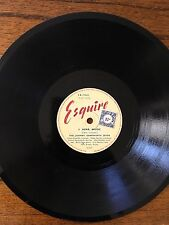78 rpm RARE JOHNNY DANKWORTH SEVEN .I HEAR MUSIC / THE SLIDER EX COND