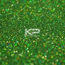 Kp Pigments BOB MARLEY HOLOHGRAPHIC GREEN GLITTER MICRO FLAKES 25 Grams