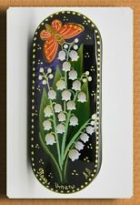 New hard case for glasses. Spectacles.Hand-painted.Russian souvenir. # w-43