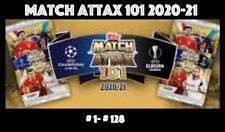 TOPPS MATCH ATTAX 101 2020-2021 2020/21 CHOOSE YOUR CARDS 1-128