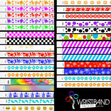 1000 x Tyvek Party Function Event Security Rave Wristbands You Choose The Colour