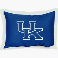 NCAA Kentucky Wildcats Pillow Sham - College Football Cotton Sateen Pillow Cover