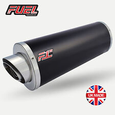 Honda CBF600 2004-2007 F1R Road Black Stainless Oval Mini UK Road Legal Exhaust